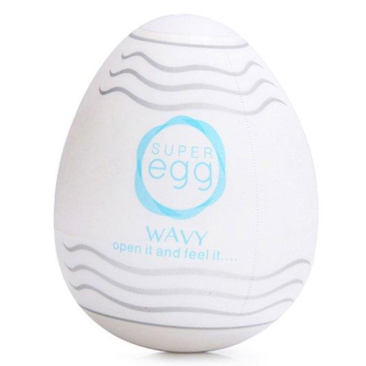 Masturbador Super Egg Wavy
