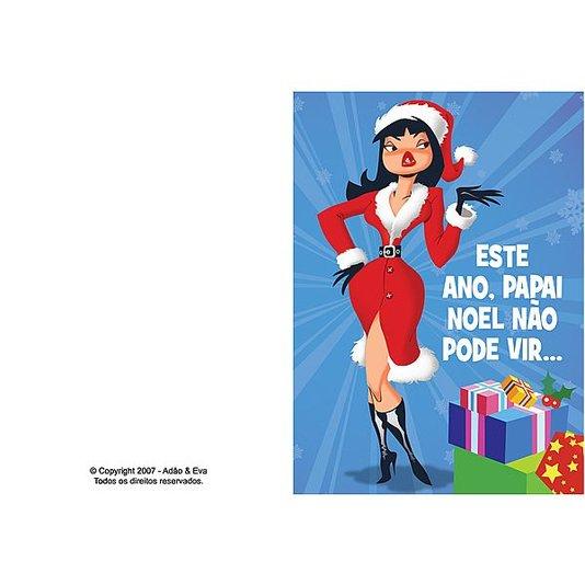 Cartão - Este Ano Papai Noel Não ...