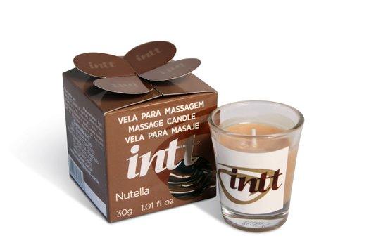 Vela Beijável Para Massagem Nutella