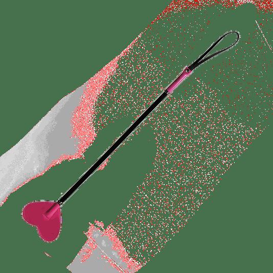 Chibata em Formato de Coração Rosa