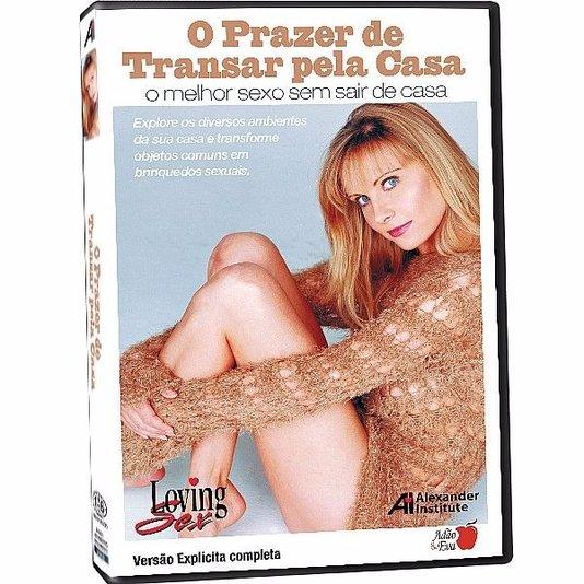 DVD O Prazer de Tranzar Pela Casa