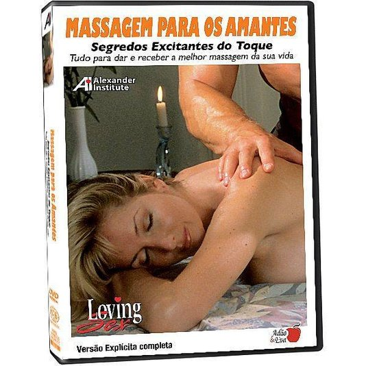 DVD Loving Sex Massagem Para os Amantes - Segredos Excitantes do Toque