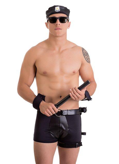 Fantasia Masculina Policial