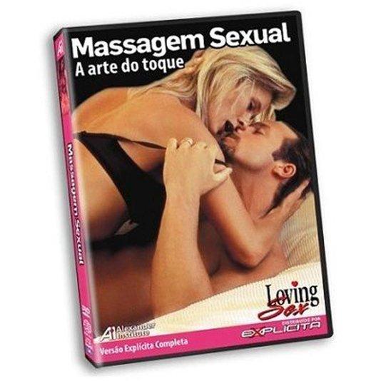 DVD Massagem Sexual A Arte do Toque