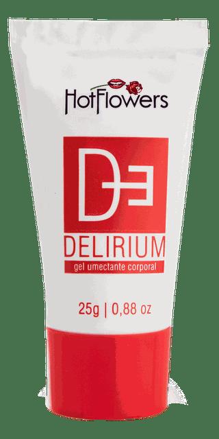 Gel Vermelho Delirium Esquenta Esfria Bisnaga 25g