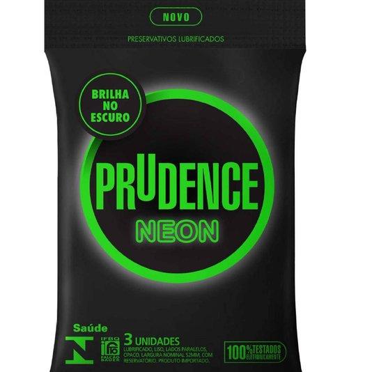 Preservativo Brilha no Escuro Prudence Neon
