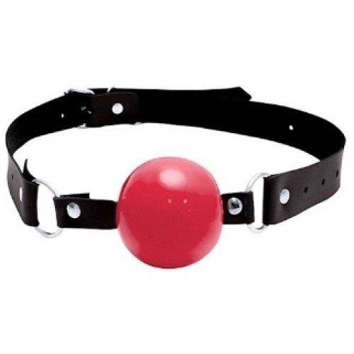 Mordaça com Formato de Bola Vermelha