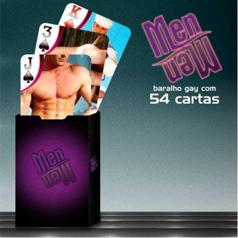 Baralho Sensual Chic Men & Men