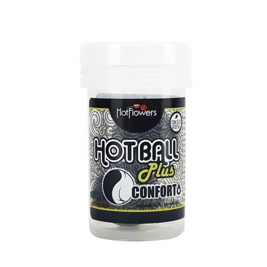 Bolinha Lubrificante Hot Ball Pluss Dupla Conforto
