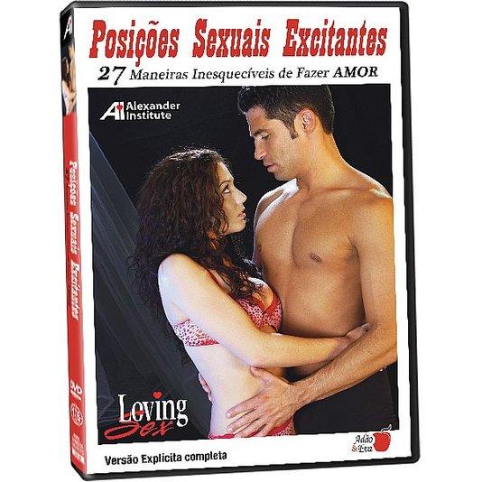 DVD Posições Sexuais Excitantes - 27 Maneiras Inesquecíveis de Fazer Amor - Loving Sex