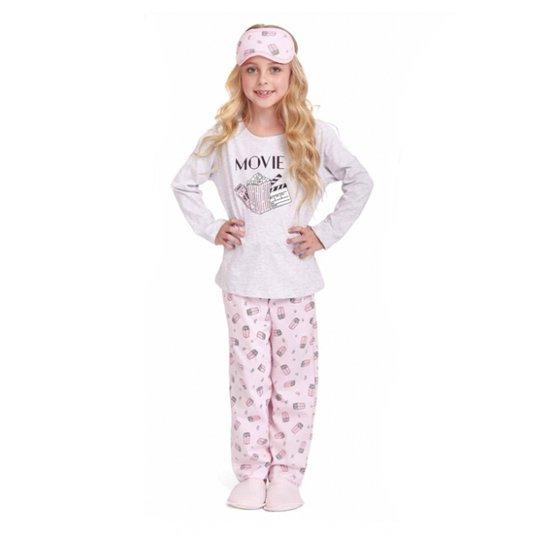 Pijama Menina Longo Infantil