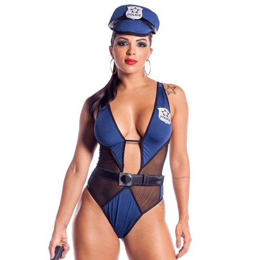 Fantasia Feminina Policial Elen
