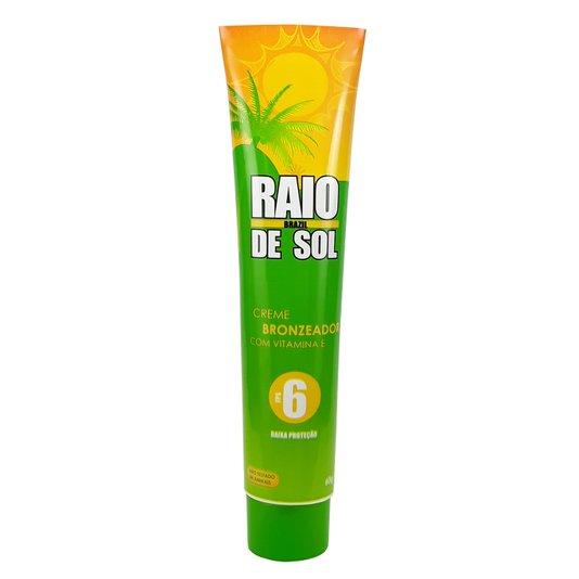Raio de Sol - Creme Bronzeador com Vitamina E FPS 6