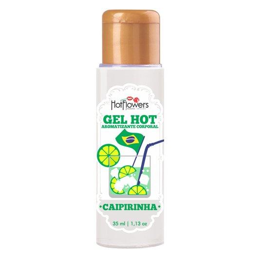Gel Comestível para Sexo Oral Hot Caipirinha 35ml