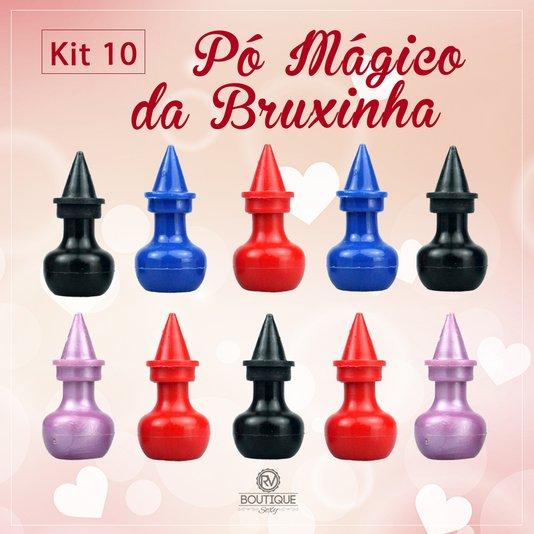 Kit 10 Un Pó Mágico da Bruxinha Estimulante e Excitante