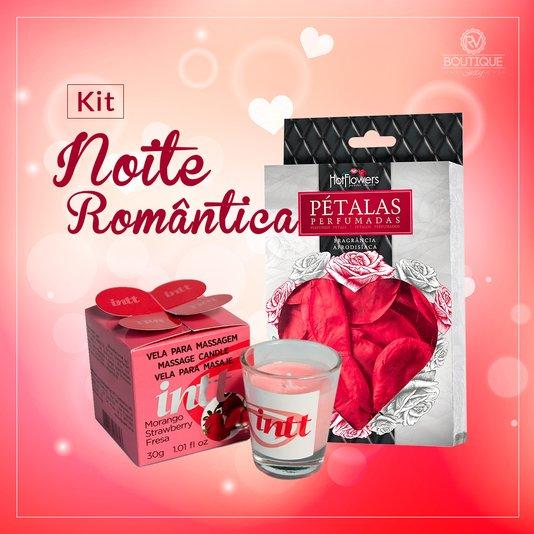 Kit Noite Romântica para Uma Noite Inesquecível