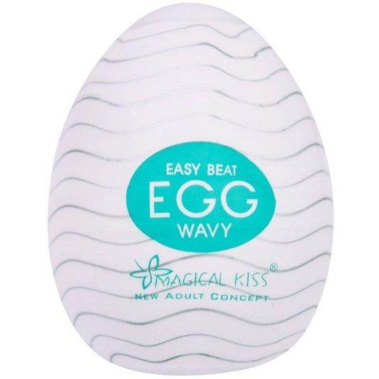 Masturbador Egg Magical Kiss Wavy