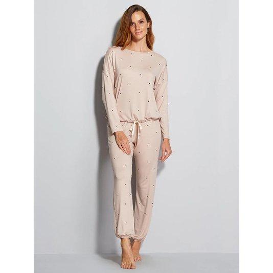 Pijama longo Dreams Hope Rosa Ballet