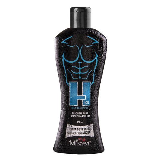Sabonete Intimo Masculino H Ice Hot Flowers 130ml
