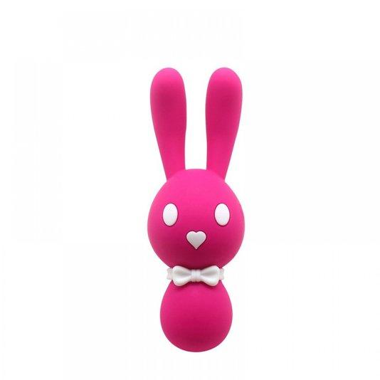 Vibrador Recarregável Formato Coelho com 10 Modos de Vibração Dorcel Rosa
