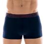 Cueca Boxer Trunk Modal Vermelho Bordô